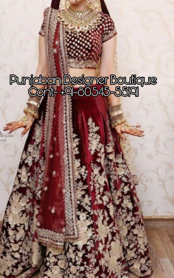 Buy Lehenga online at Punjaban Designer Boutique