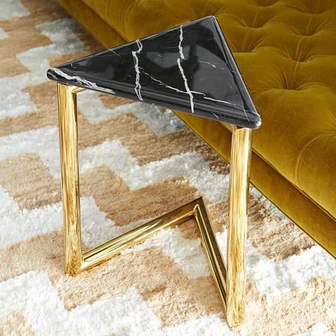 Ultra Triangle Accent Table By Jonathan Adler