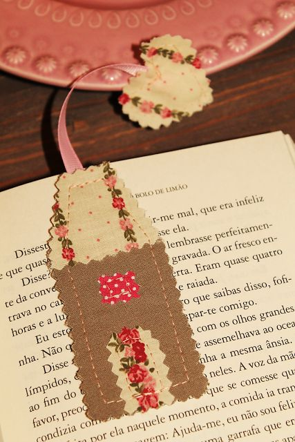 my sweet cloud: Sew Projects {Marcador de Livro}