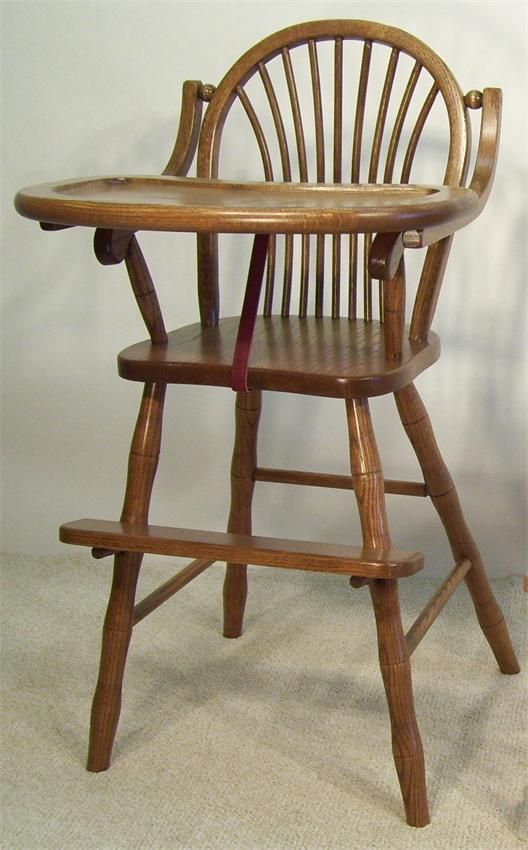 29 Best Solid Wood High Chairs Images On Pinterest Amish
