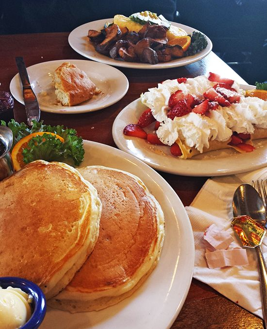 Brunch at McKay Cottage Restaurant - Bend, Oregon