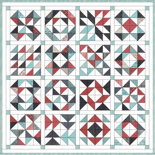 36 Best Images About Pieced Quilts Hst On Pinterest