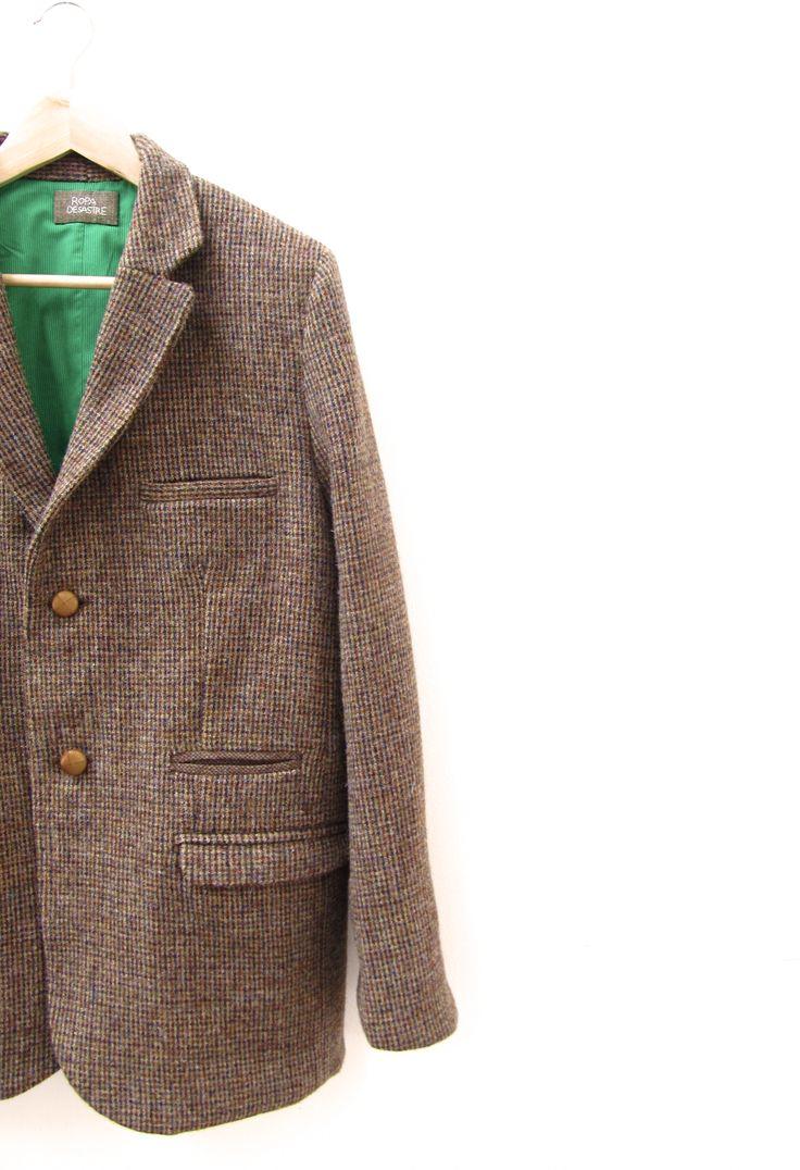 Chaqueta de hombre. A medida.  Jacket. Bespoke Tailor.  www.ropadesastre.com