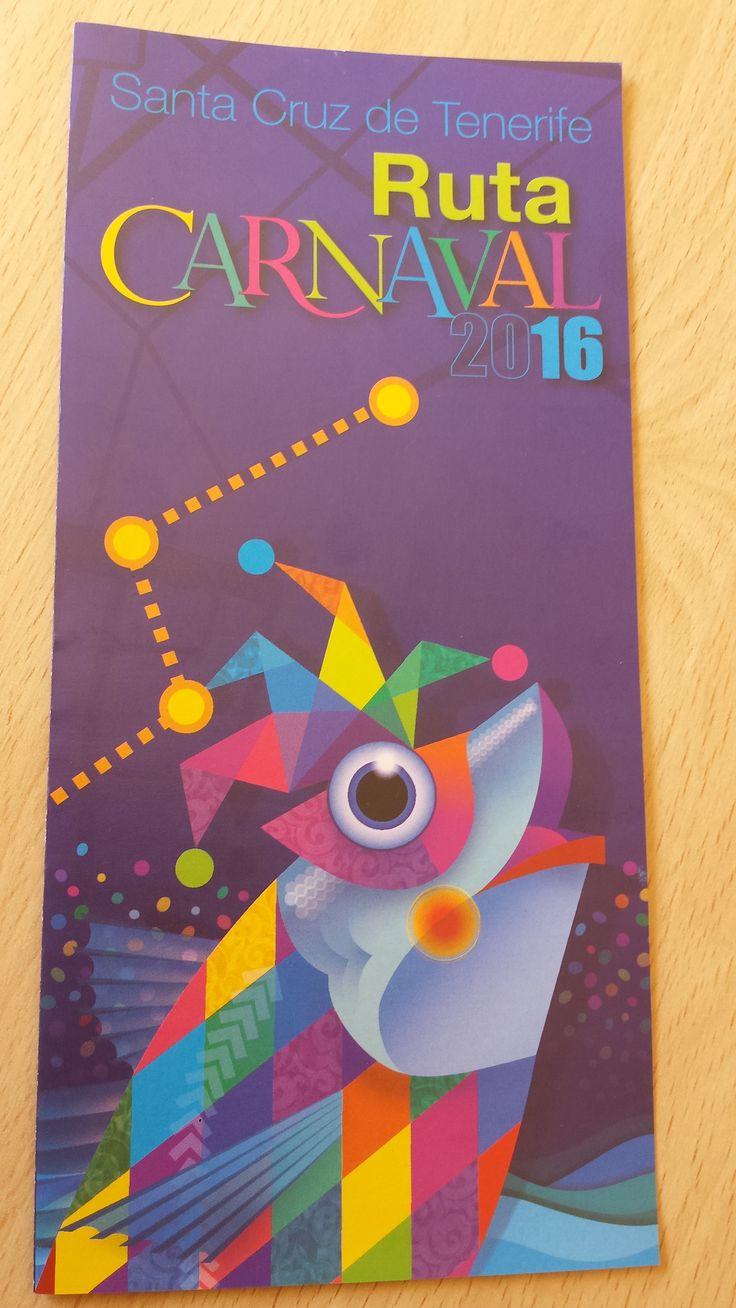 Ruta del Carnaval 2016. Carnaval de Tenerife