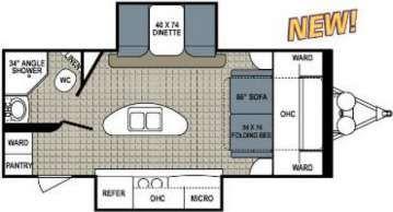 2014 Dutchmen 220 Rbsl Has Murphy Bed Campers
