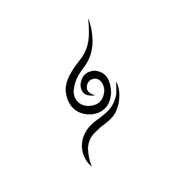Japanese Tattoo Symbols Liked On Polyvore Featuring: As 25 Melhores Ideias De Anbu Tattoo No Pinterest