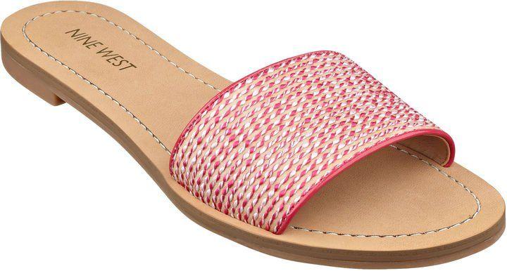 Pin for Later: 50 paires de sandales à moins de 50 € ! Tongs Nine West Nine West Summers Slide Sandals ($49)