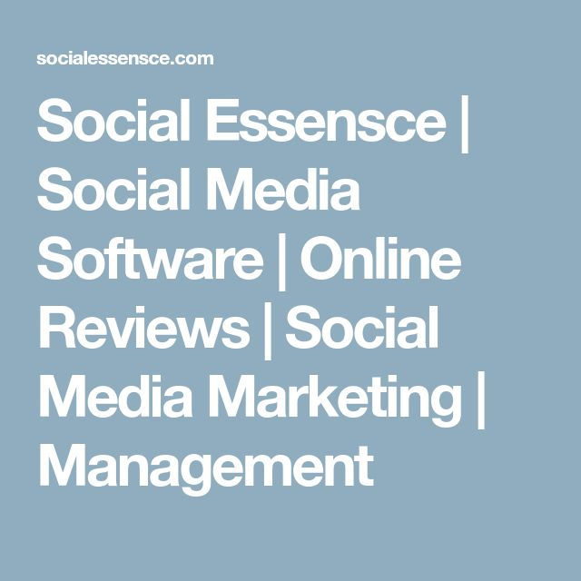 Social Essensce | Social Media Software | Online Reviews | Social Media Marketing | Management