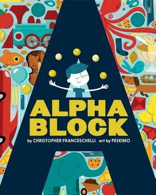 A newer release, but a goodie. Alphablock is for the hipster child. With thick pages cut into the shape of each letter, this book introduces the alphabet with funky retro illustrations. Not your everyday alphabet book – and that's what makes it great to give as a gift.