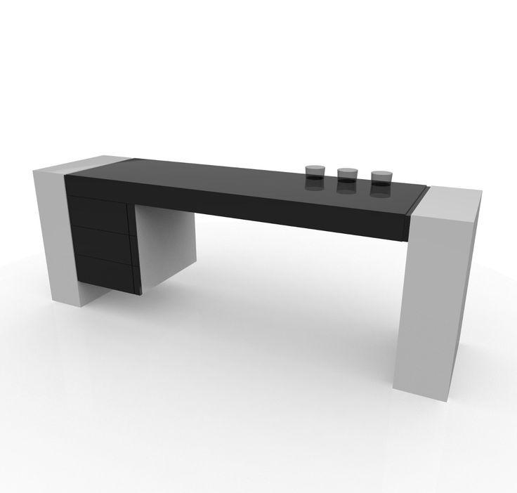 Escritorio ejecutivo escritorios modernos pinterest for Herrajes para muebles de oficina