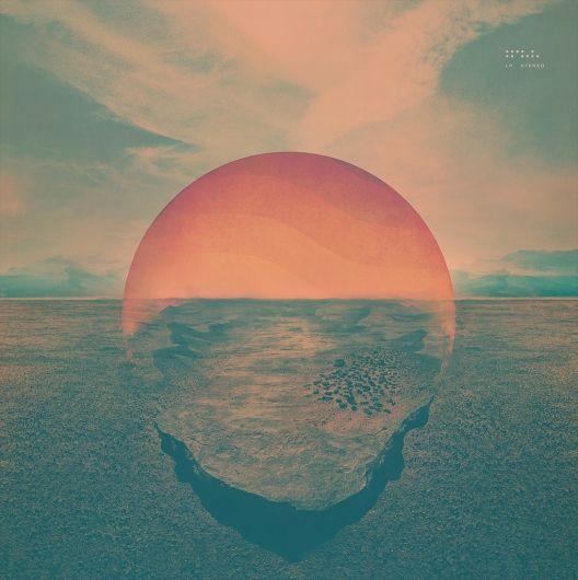 Designspiration — Tycho's Dive Album Artwork: love this calm / neutral / hopeful color palette (blues / greens / warm cement