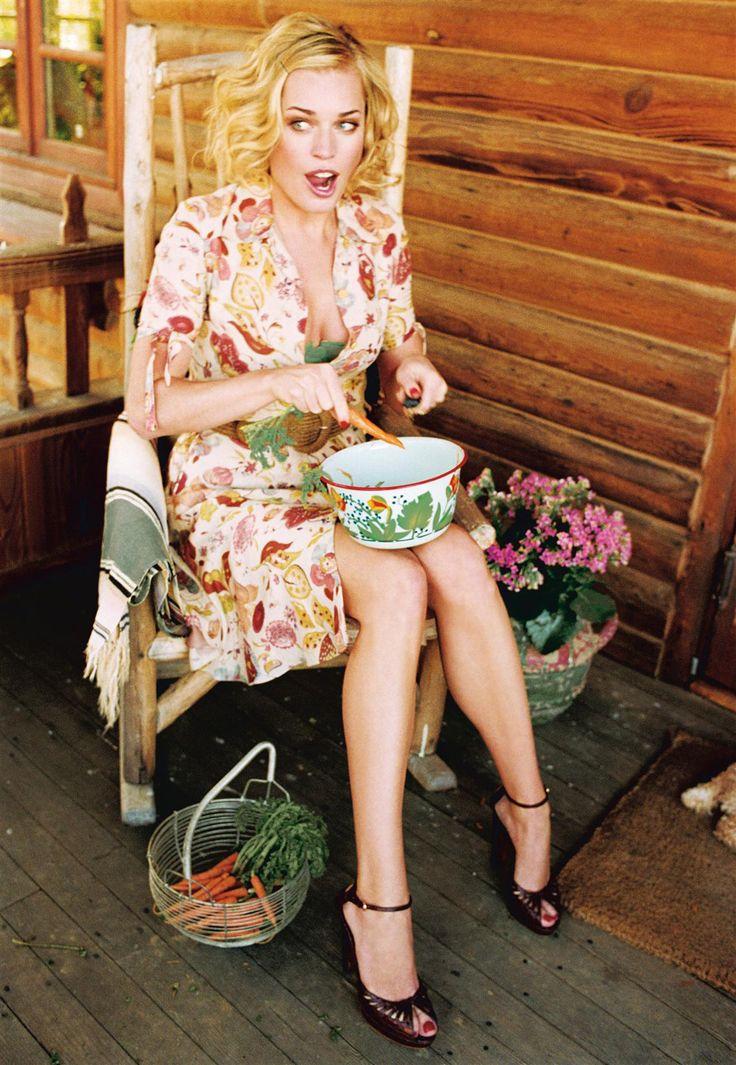 Rebecca Romijn photographed by Ellen von Unwerth