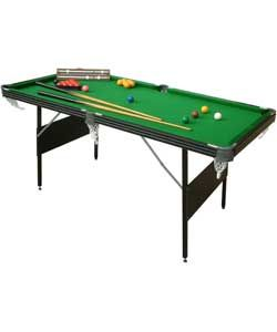 Buy Mightymast Crucible 6ft Foldup Snooker/Pool Table at Argos.co.uk, visit Argos.co.uk to shop online for Pool tables, Pool tables