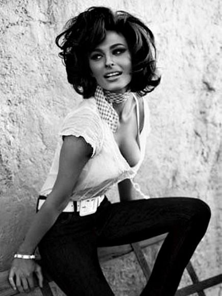 "curvyswervydames: "" Sophia Loren (14) :: """