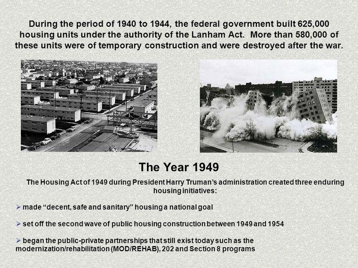 Image result for housing act of 1949 san antonio san