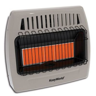 Kozy World 30,000 BTU Infrared Natural Gas Wall Heater,    #SpaceHeaters,    #KWN521