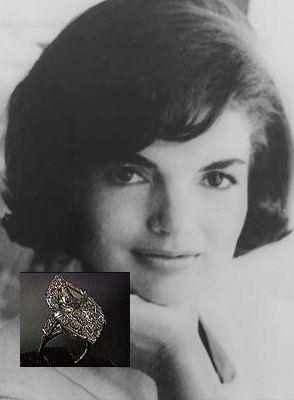 Anel de Noivado Jacqueline Kennedy