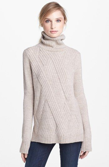 Vince+'Travelling'+Ribbed+Turtleneck+Sweater+available+at+#Nordstrom