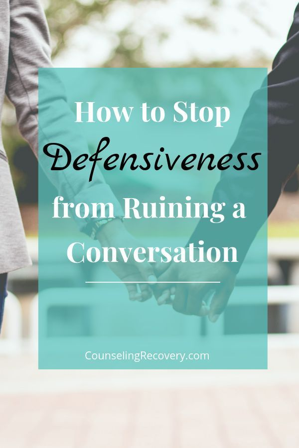 defensiveness meaning psychology