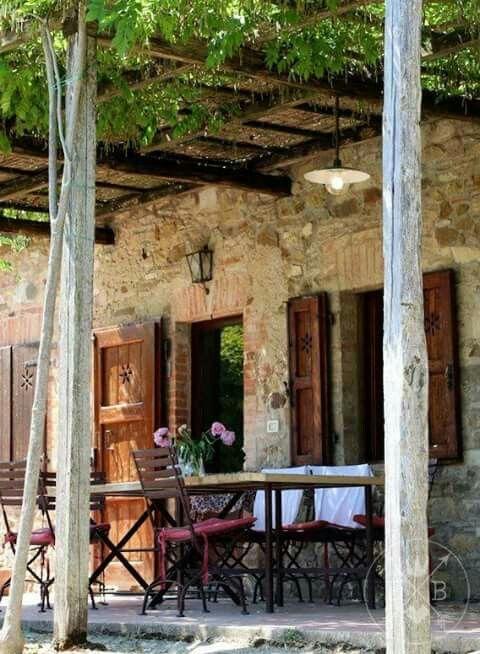 25 melhores ideias sobre casas estilo toscano no for Estilo toscano contemporaneo