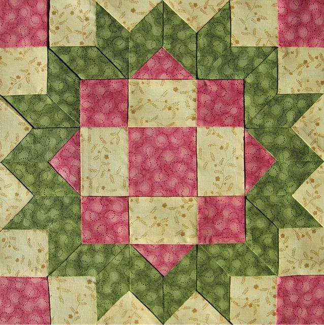 The Loyal Daughter block...Love the colors and the name