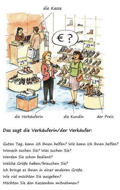 Shopping (Comprando um sapato)