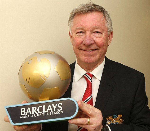 Ferguson won manager of the season in his final campaign