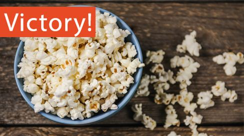 Victory for the BEES! Pop Secret Becomes Second Company to Remove Neonicotinoids from Popcorn Supply in Response to Public Pressure November 25th, 2015