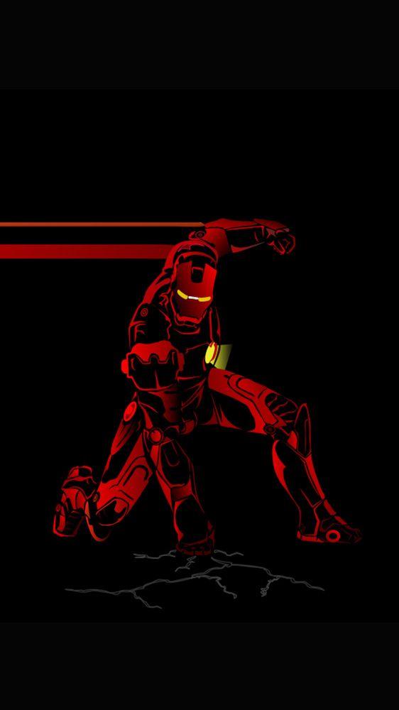 Red Iron Man Iphone Wallpaper Iron Man Wallpaper Red And Black Wallpaper Iron Man Cool wallpapers iron man
