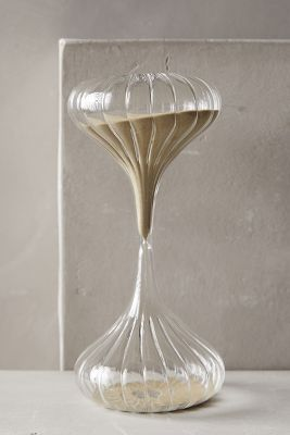 Shimmering Sand Hourglass | anthropologie.com