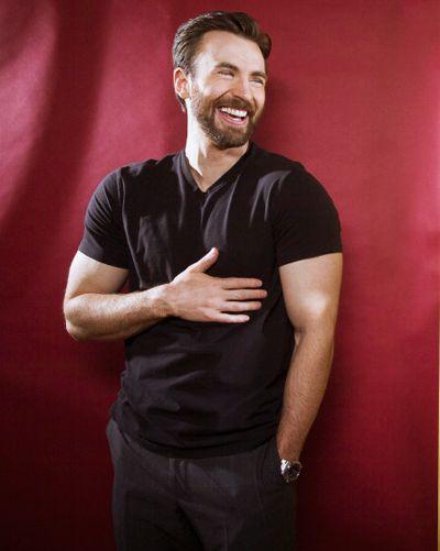 Chris, I love your smile. Do it more often, okay?