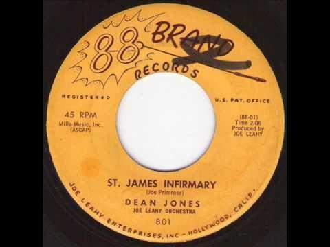 DEAN JONES - St James Infirmary