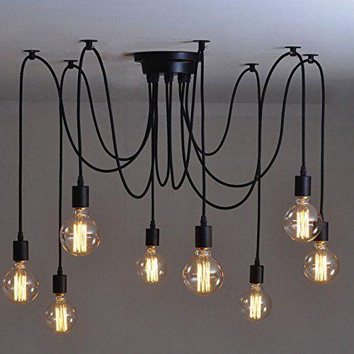 Lemonbest Vintage E27 Industrial Fixture Retro Pendant Light Ceiling Lamp Chandelier 8 Light, http://www.amazon.ca/dp/B010DIBPFC/ref=cm_sw_r_pi_awdl_VBqPwb1RT3Q2S