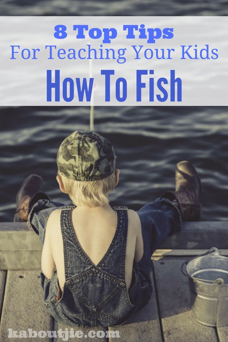 Fishing is a great life skill that you can pass on to your children. It also provides a great way to bond with your kids outdoors. Here are tips for teaching your kids how to fish.  #guestpost #fishing #kidsactivities #teachkidstofish