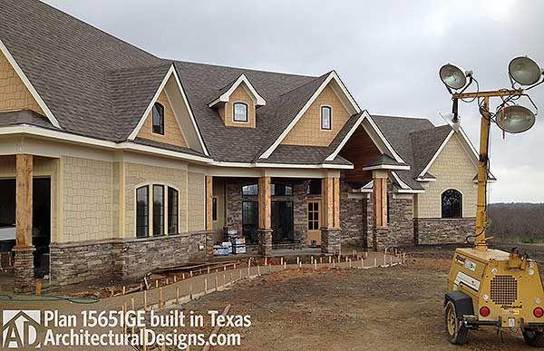 Plan 15651ge award winning gable roof masterpiece house for Award winning craftsman home designs