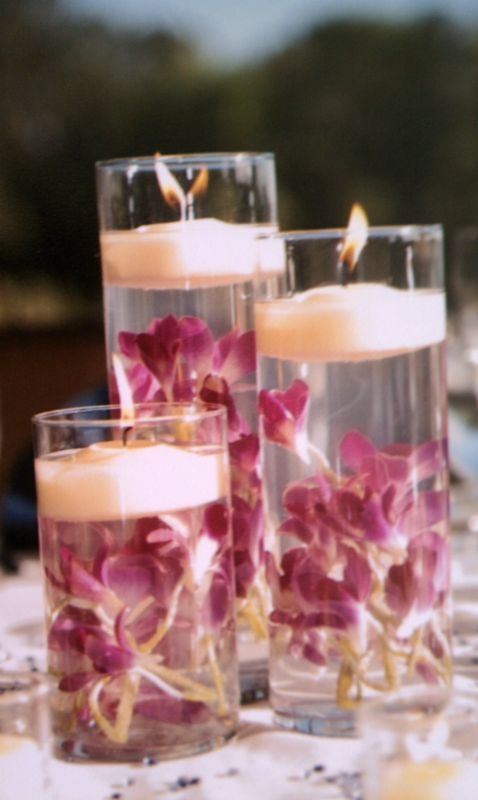 Cylinder glass vases wedding centerpieces diy