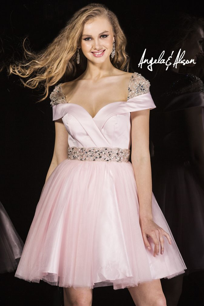 Style 42038 Lace and beaded capped sleeves with e tulle skirt and beaded belt. Perfect for Pageants, Prom, Homecoming, Gala, Wedding, Formal, Graduation, Ball... etc.