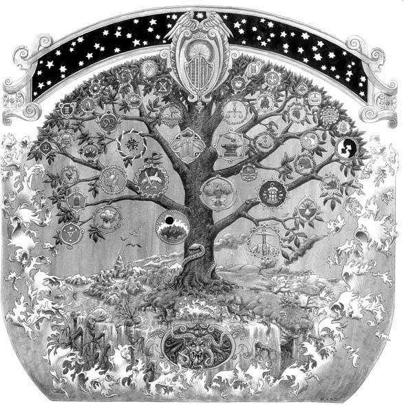 14 Best Images About Yggdrasil On Pinterest