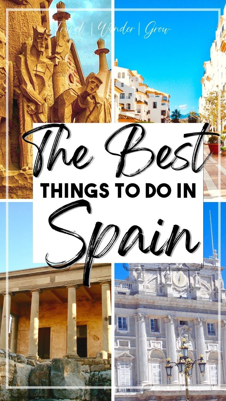 The Best Places To Visit In Spain A Multi City Mini Guide Cool Places To Visit Best Cities In Spain Places To Visit