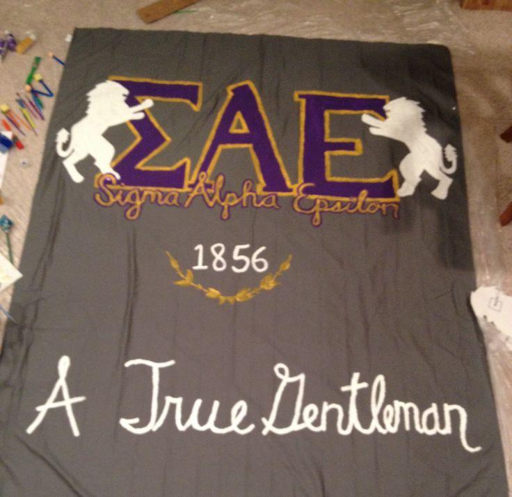 Sigma Alpha Epsilon banner                                                                                                                                                     More