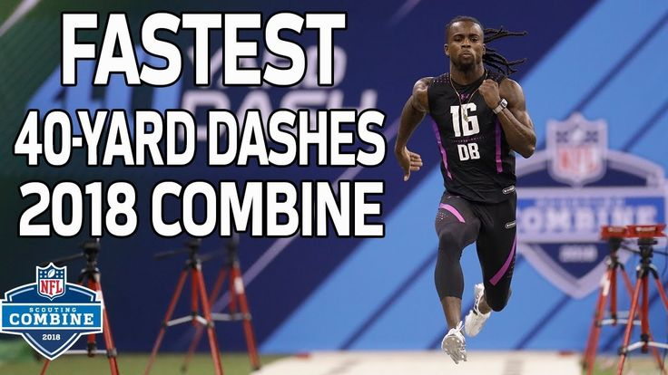 The Fastest 40-Yard Dash Times of 2018! | NFL Combine Highlights  Watch the fastest 40-yard dash times from the 2018 NFL Scouting Combine.  Watch full games with NFL Game Pass: https://www.nfl.com/gamepass?campaign...