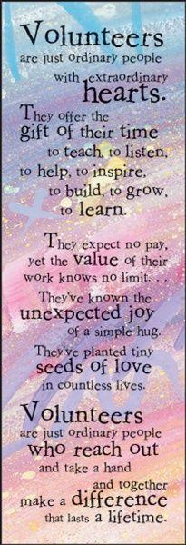 School Volunteer Quotes. QuotesGram by @quotesgram