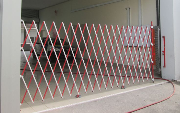Very exited about our NEW all aluminum tubular steel safety barriers. Check it out