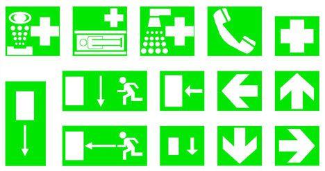 cartelli di sicurezza dwg - 626 simboli dwg