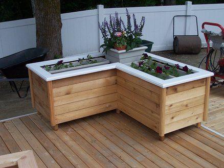 Corner Planter Box For Deck?