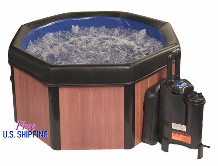 5 Person Spa Portable Hard Wall Hot Tub Massage System Heater Jacuzzi Cover Jets #Jacuzzi