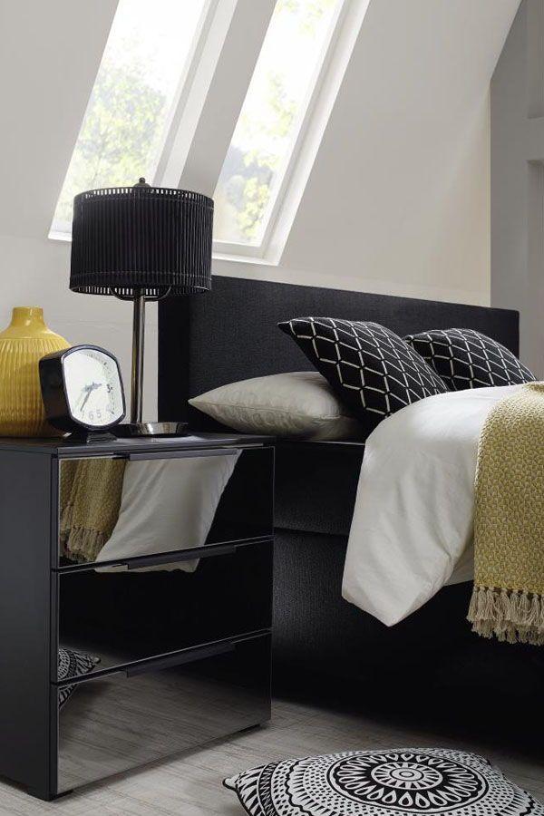 Für mehr WOW im Schlafzimmer Lass schwarze Möbel einziehen