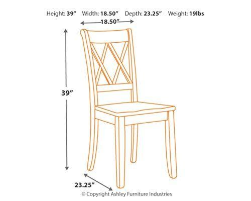 Superb Ashley Furniture Signature Design Mestler Dining Room Side Home Interior And Landscaping Dextoversignezvosmurscom