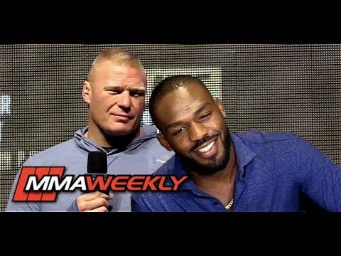 MMA Jon Jones Breaks Down Brock Lesnar Callout