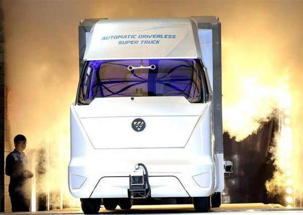 Driverless trucks developed in other countries may overtake rivals given lax regulations #AI